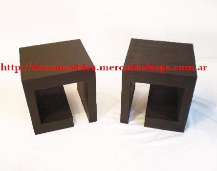 repisas flotantes zig-zag minimalistas por 2 unidades
