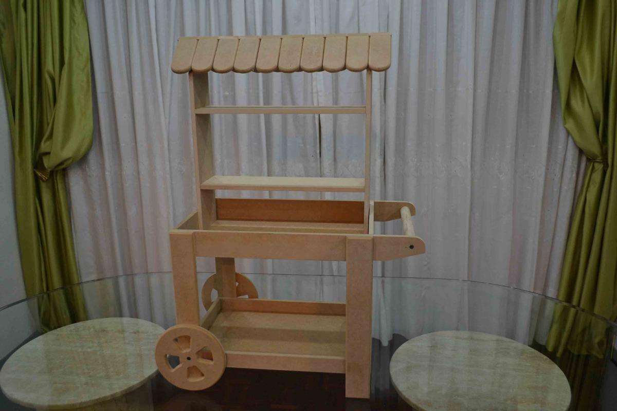 Repisas Mdf, Candy Bar Centro De Mesas Exhibidor De Cupcake  Bs 59
