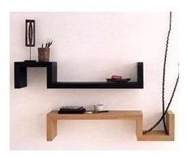 repisas minimalista modernas flotante aéreos tipo s casa