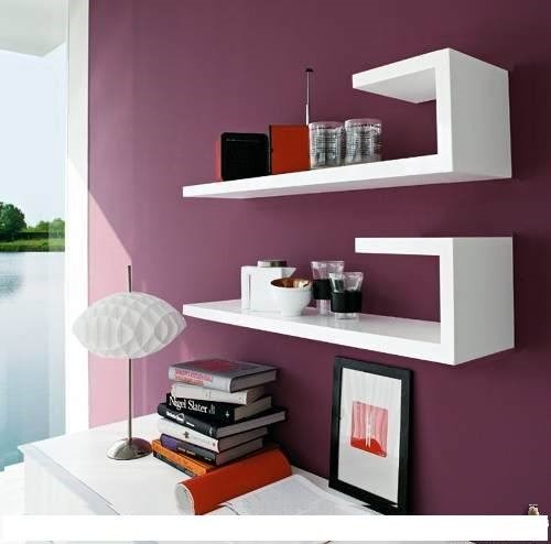 Repisas minimalistas flotantes modernas feng shui reiki for Mensole ikea