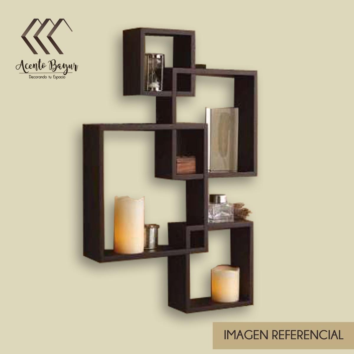 repisas mueble flotante aereas minimalista moderna cubo c