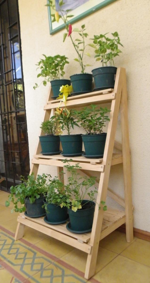 Repisas para plantas en mercado libre for Muebles para plantas