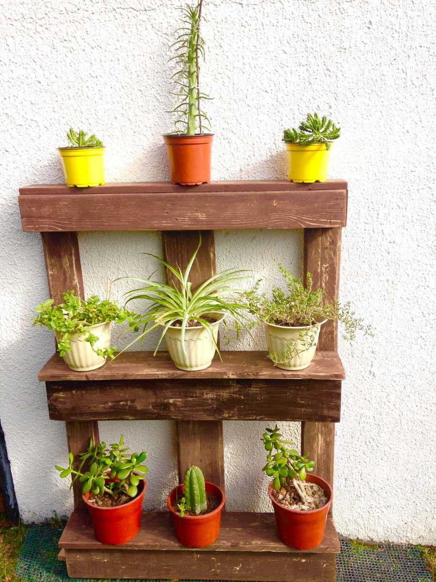 Repisero para plantas en mercado libre for Muebles para plantas