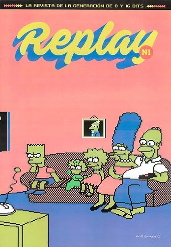 replay #1 - doom - simpsons - mario bros - sega mega drive