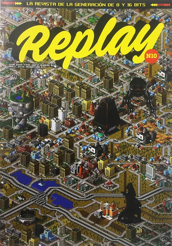 replay #10 - revista - sim city metal gear - videojuegos