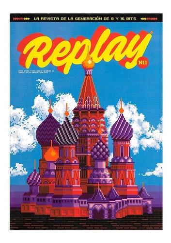 replay #11 - tetris mickey mania - revista videojuegos retro