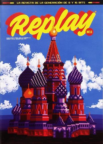 replay #11 - videojuegos retro tetris mickey mania