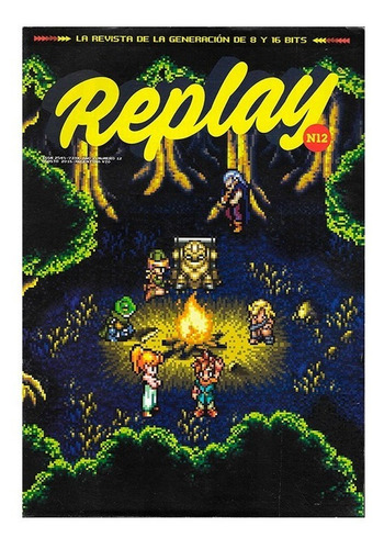 replay #12 - cabal donkey kong - revista videojuegos retro