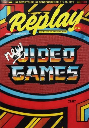 replay #13 - videojuegos retro pc futbol malvinas 2032