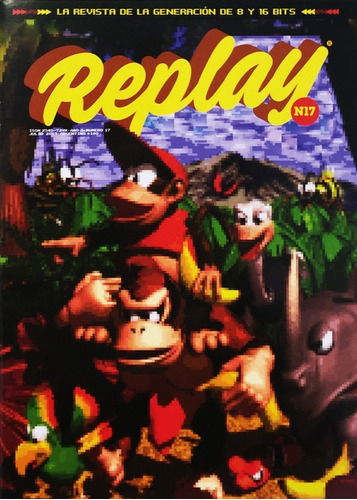 replay #17 - videojuegos retro donkey kong country shinobi