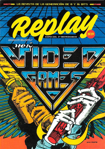 replay #19 - revista videojuegos retro - sinclair spectrum
