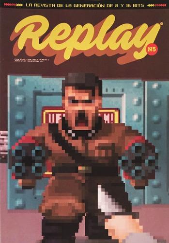 replay #5 - videojuegos retro wolfenstein mame sonic