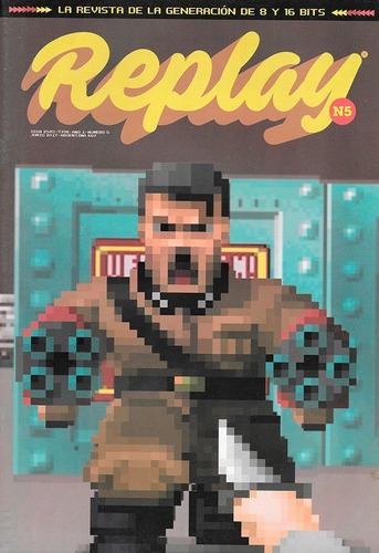 replay #5 - wolfenstein - doom - revista videojuegos retro