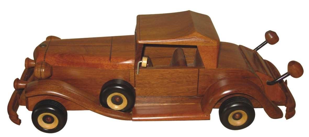 660a1aaeefd réplica carro antigo 30cm      em madeira. Carregando zoom.