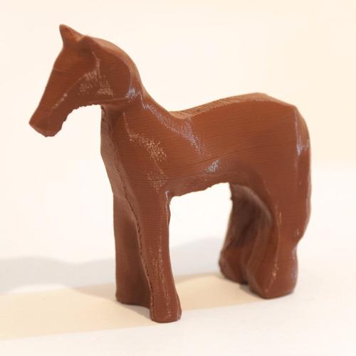 réplica cavalo de madeira blade runner 2049 (wooden horse)