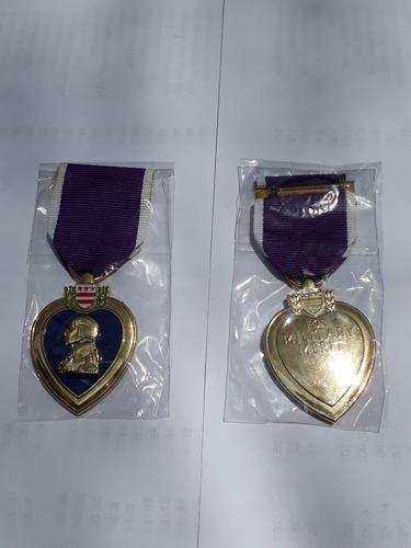 réplica condecoración corazón púrpura usa