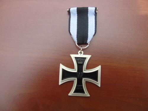 réplica condecoración cruz de hierro 1ra. guerra mundial