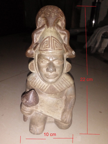 replica de huaco de cultura peruana