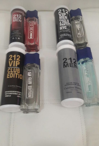 réplica de lociones x 125 ml, fragancias, de réplicas x 12