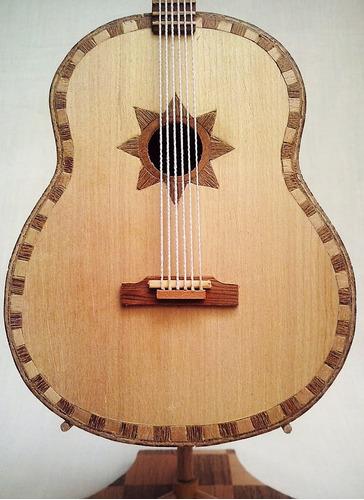 réplica guitarrón mexicano