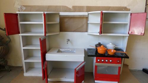 réplica miniatura cozinha anos 70 metal restaurada raridade
