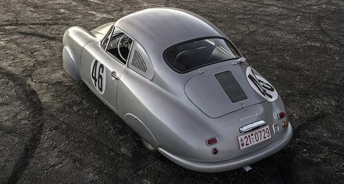 replica porsche 356 coupe versão gmund  fibra de carbono