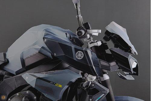 replica ultrarealista moto mt10 papercraft