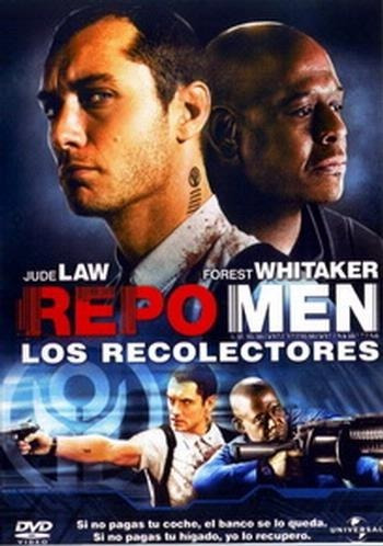 repo men - los recolectores - jude law - dvd - original!!