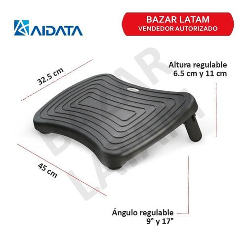reposa apoya pies ergonomico aidata altura regulable