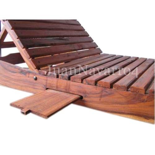 reposera camastro de madera dura quebracho en cuotas