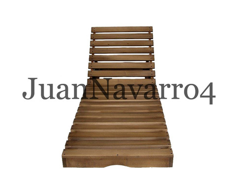 reposera camastro madera