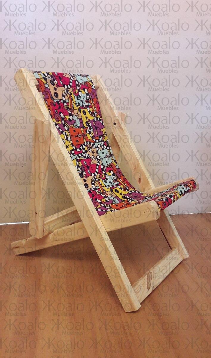 Reposera Infantil Koalo Muebles 263 00 En Mercado Libre # Muebles Cuanta Razon