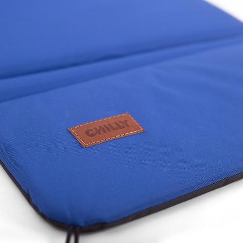 reposera plegable chilly diseño azul francia