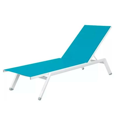 reposera sillón textileno 4 pos 40574 turquesa envio #6
