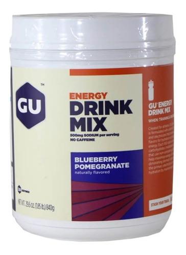 repositor energético drink mix gu (pote)
