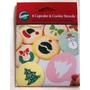 Esténciles Wilton Pastelería Cupcakes Galletas Torta Navidad