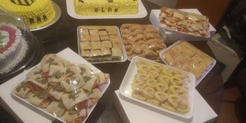 reposteria en general servicio de lunch tortas postres