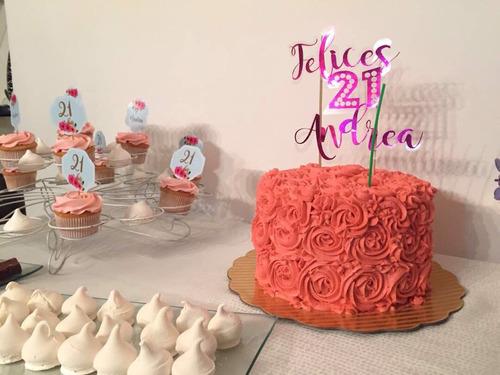 repostería por encargo, tortas decoradas, cupcakes, dulces