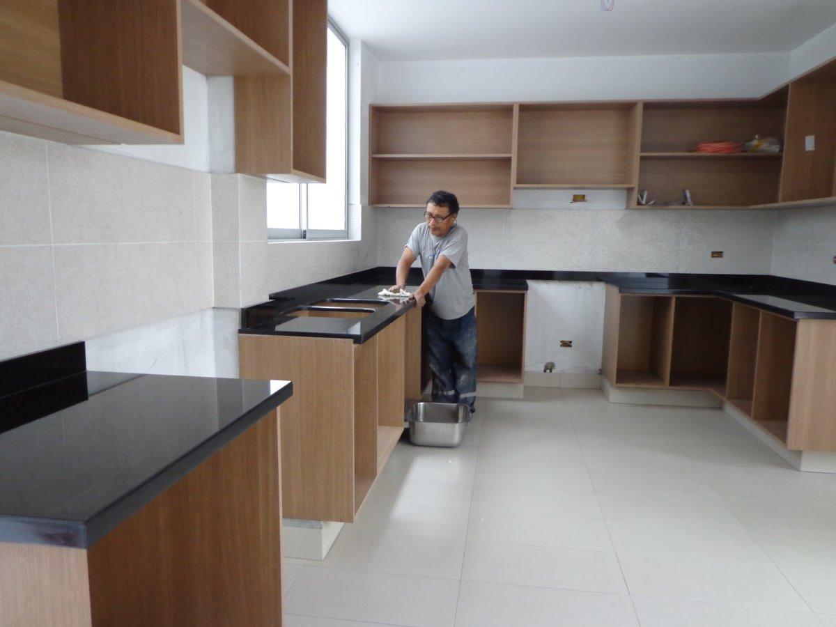 Repostero De Cocina De Melamina Y Encimera De Granito S 339 00 En