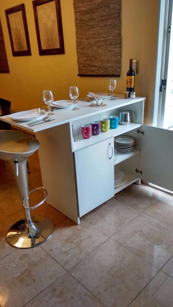 Repostero Mesa De Cocina Con Repisa Modelo Isla - S/ 275,00 en ...