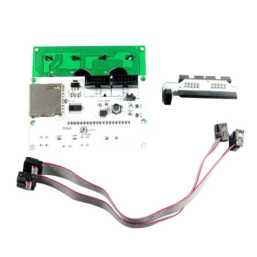 reprap controlador smart lcd12864 su vez led control