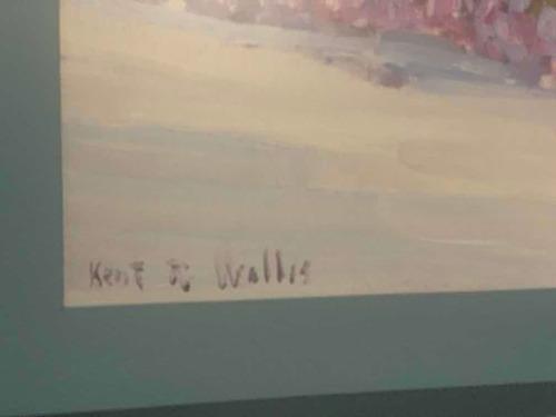 reproducción encuadrada de kent r wallis