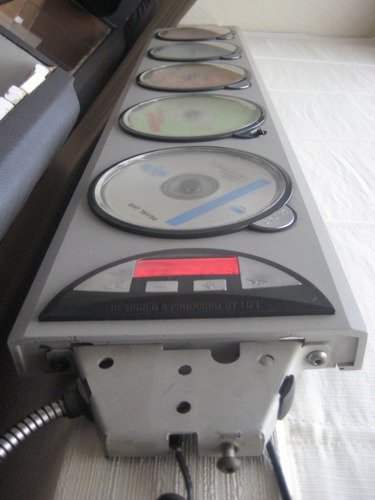 reproductor 5cd lift ultradelgado feria del disco