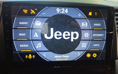 reproductor android smart doble din para carros 100d