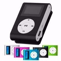 reproductor audio mp3 shuffle audifonos micro sd hasta 32gb