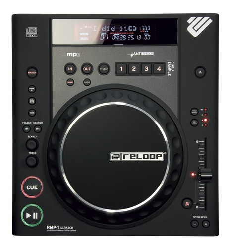 reproductor audio reloop rmp-1 scratch