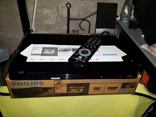 reproductor blu-ray 3d phillips 2000 series. sin uso