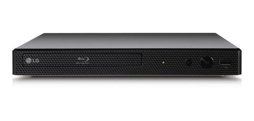 reproductor blu ray lg bp255 negro hdmi, usb, smart, 1080p