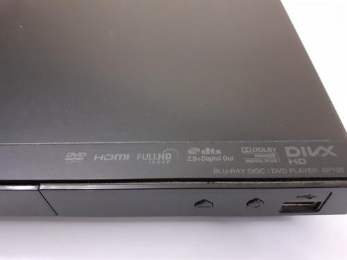 reproductor blu ray lg modelo bp125 dvd usb hdmi