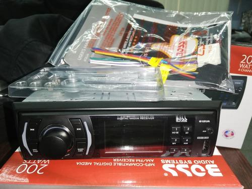 reproductor boss 612ua 200 watts. 100 % original